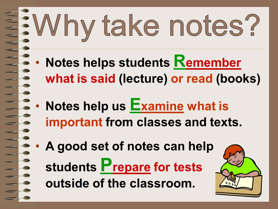 Compare notes with a partner.Talk about what you wrote and why.