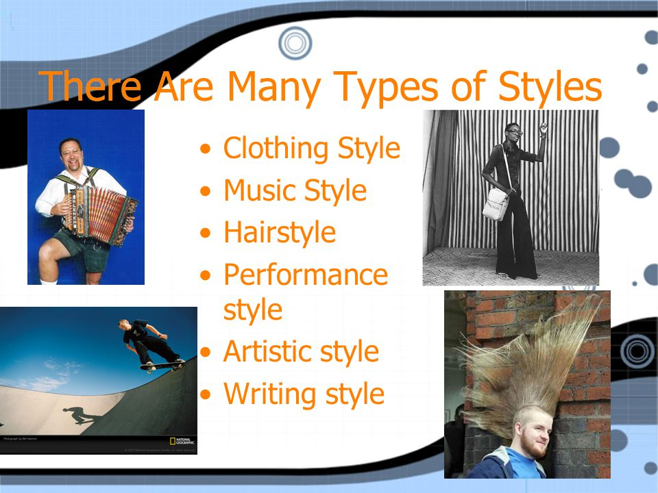 STYLE Write in Table of Contents