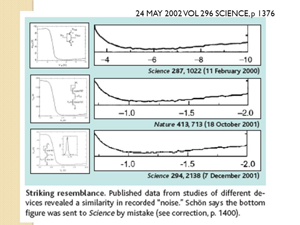 24 MAY 2002 VOL 296 SCIENCE, p 1376