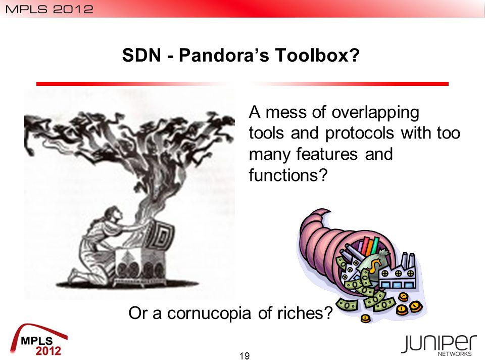 SDN - Pandora's Toolbox.