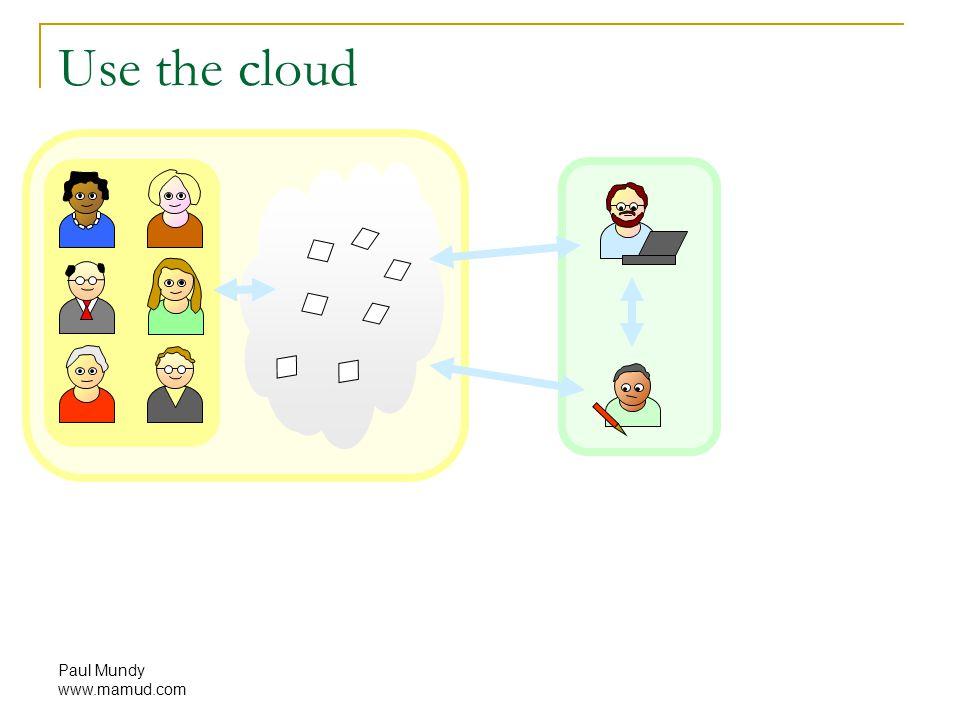 Paul Mundy www.mamud.com Use the cloud