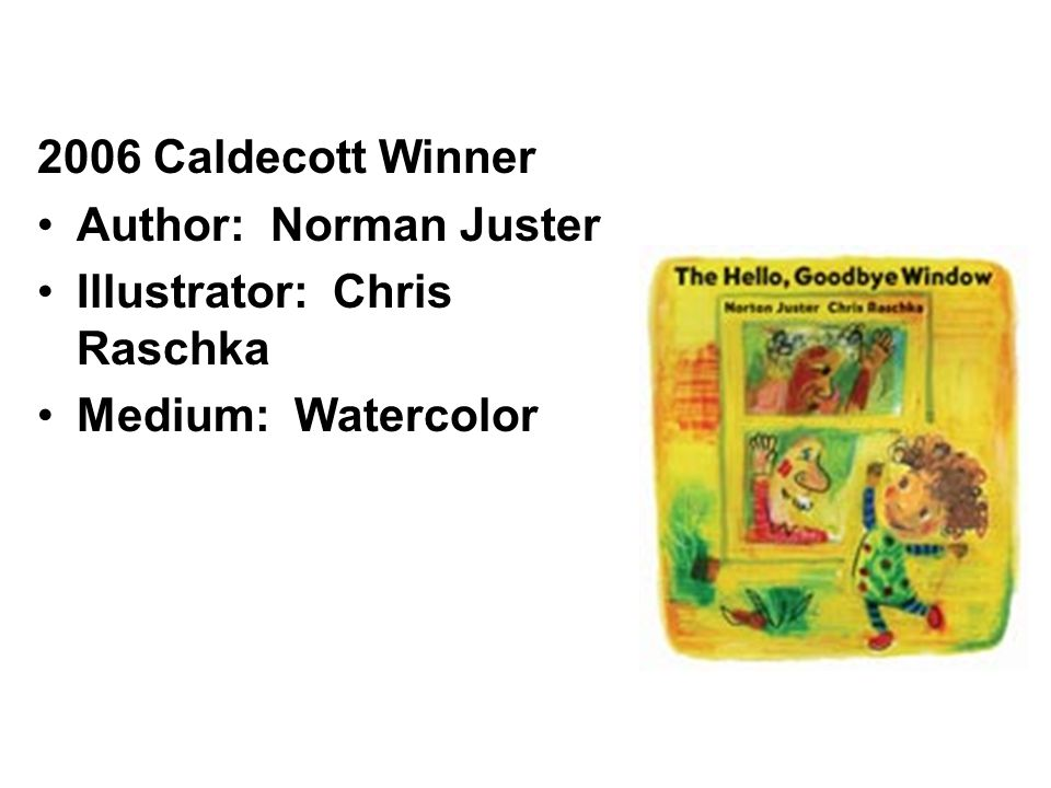 The first Caldecott Medal was presented in 1938 to Dorothy Lathrop for her book, Animals of the Bible, A Picture Book.