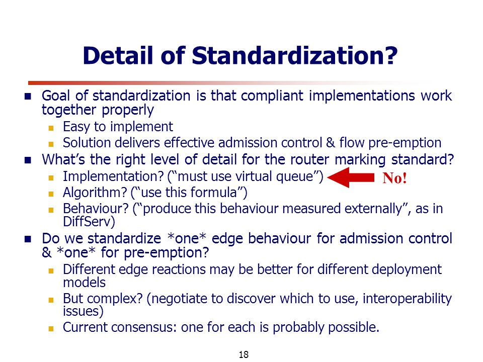18 Detail of Standardization.