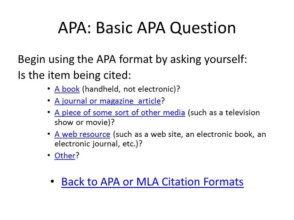 APA: Translation Author s last name, Initials.(date).