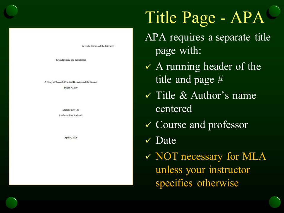 mla essay without title page Mla (modern language association) style of links design is widespread in the humanities in brackets after paraphrases, along with the page spacing without intermediate punctuation marks it's the first thing listed on the information page mla title page plays a very important role in creating the.