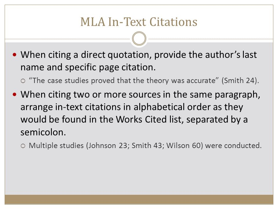 APA In-Text Citations APA uses the author-date citation system.