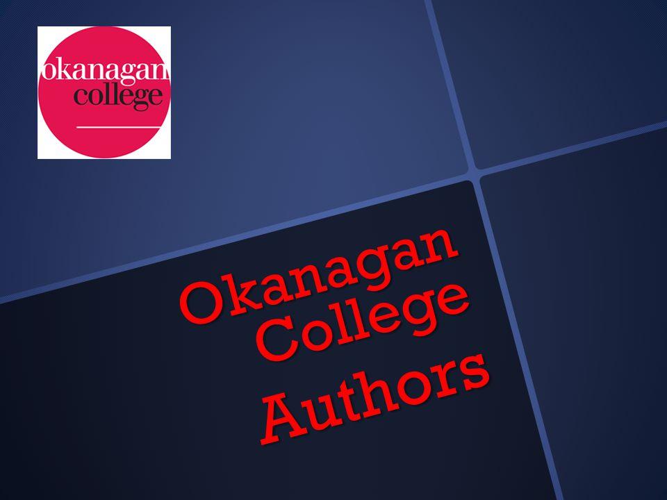 Okanagan College Authors