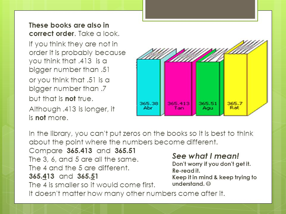 These books are also in correct order. Take a look.