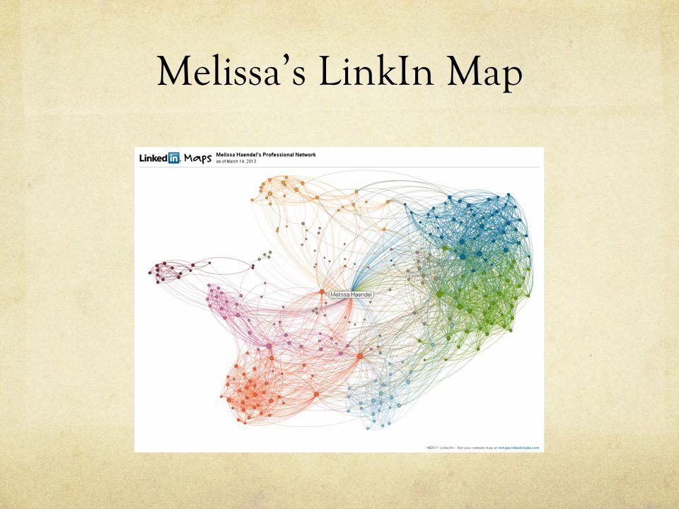 Melissa's LinkIn Map