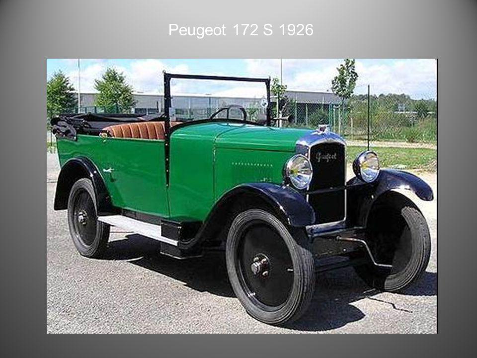 Peugeot 190 S 1925