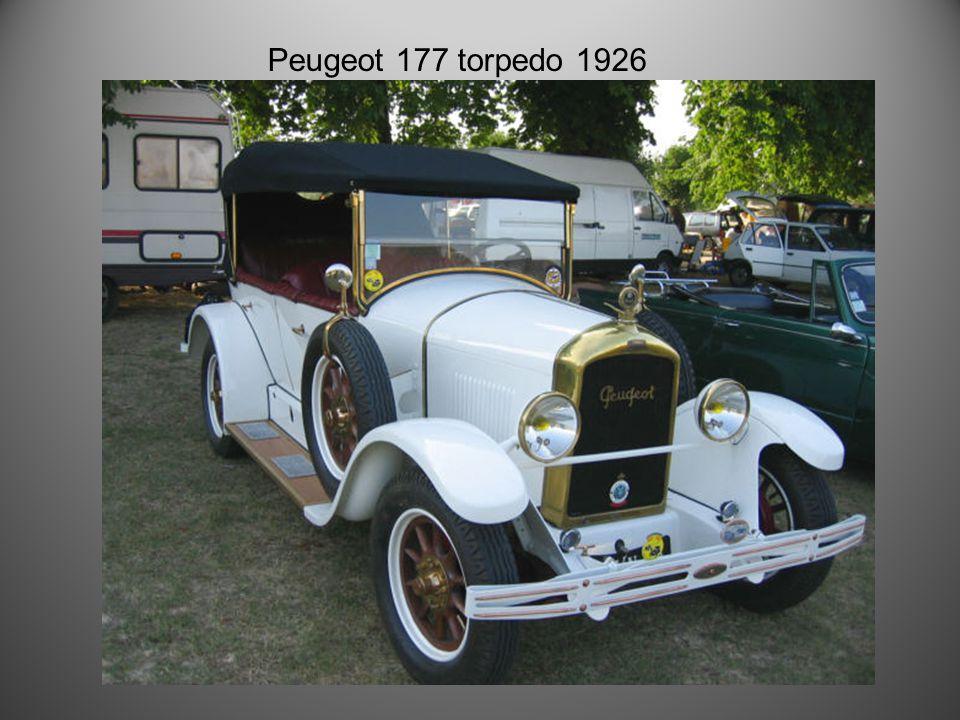 Peugeot 172 S 1926