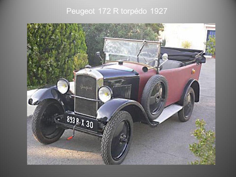 Peugeot 177 torpedo 1926