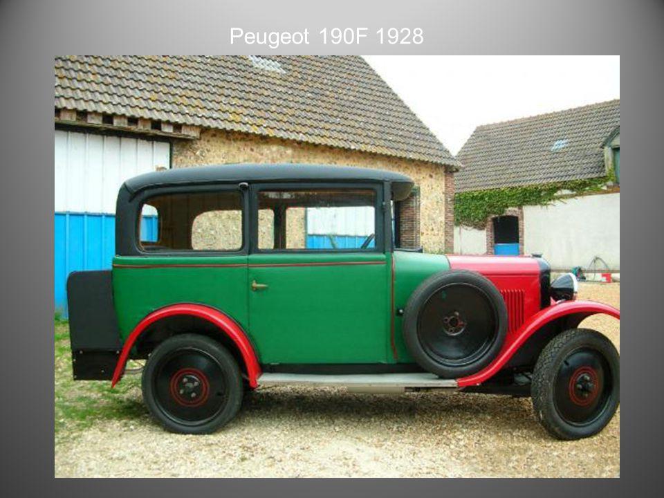 Peugeot 172 M 1928