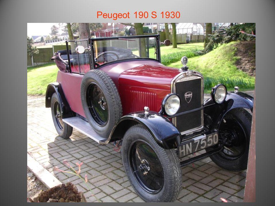 Peugeot Quadrilette 1929