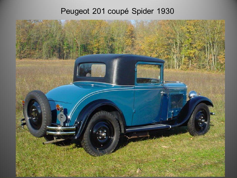 Peugeot 201 Torpédo 1930