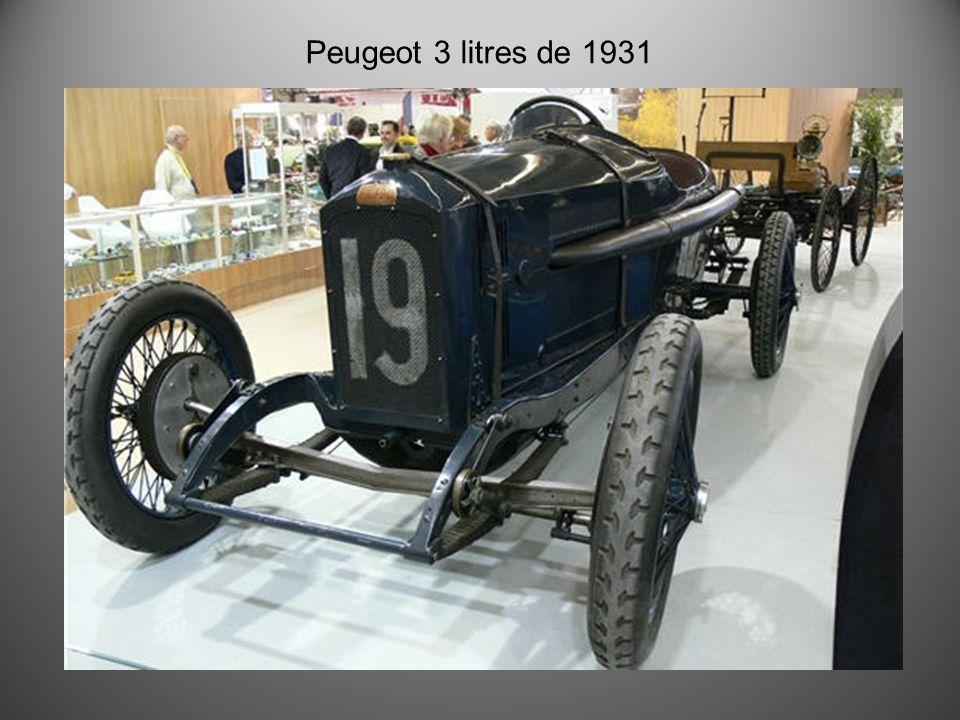 Realisation Charles Le Pottier 2012 Mes Vieilles Peugeot Jusqu'à 1937