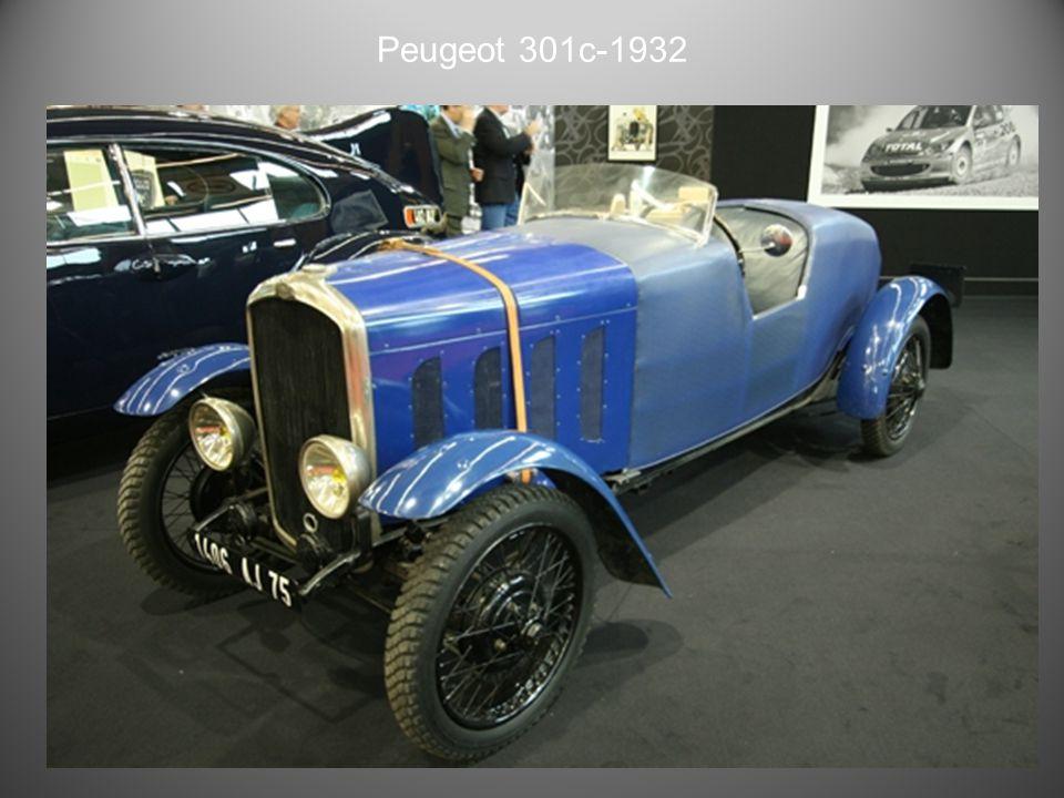 Peugeot 201 coupé 1933