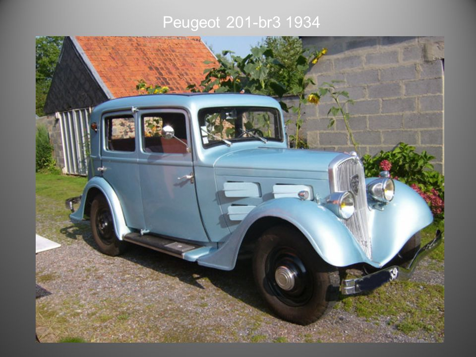 Peugeot 201-BR 1934