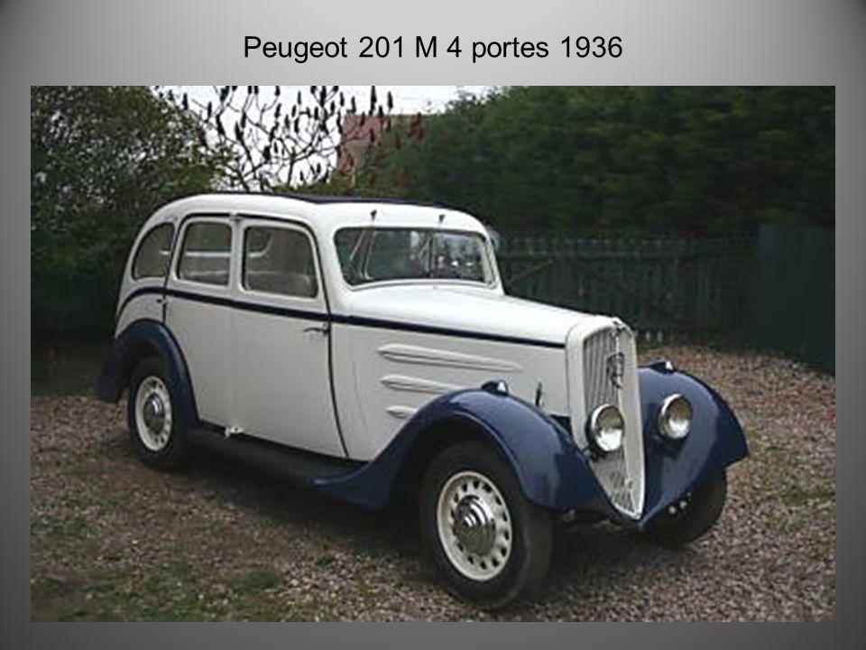Peugeot 201-br3 1934
