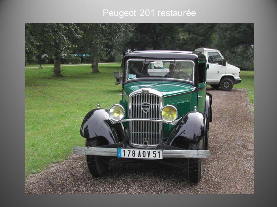 Peugeot 201 M 4 portes 1936
