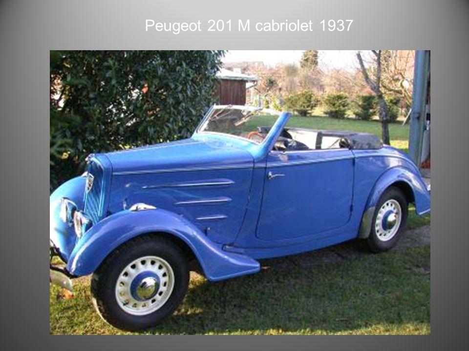 Peugeot 201 restaurée