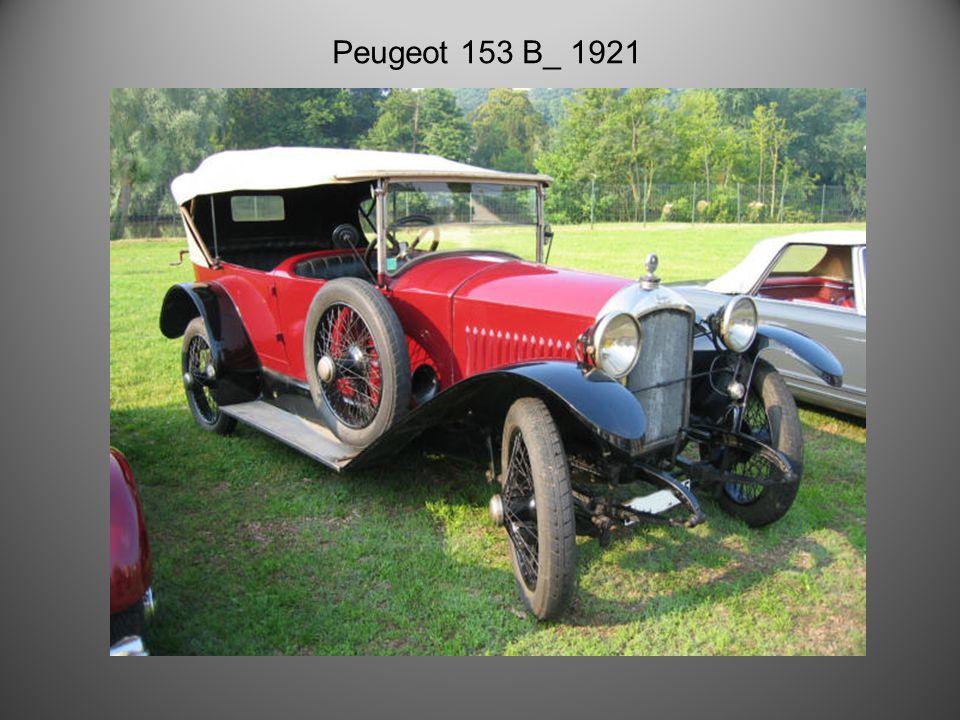 Peugeot 3 litres de 1931