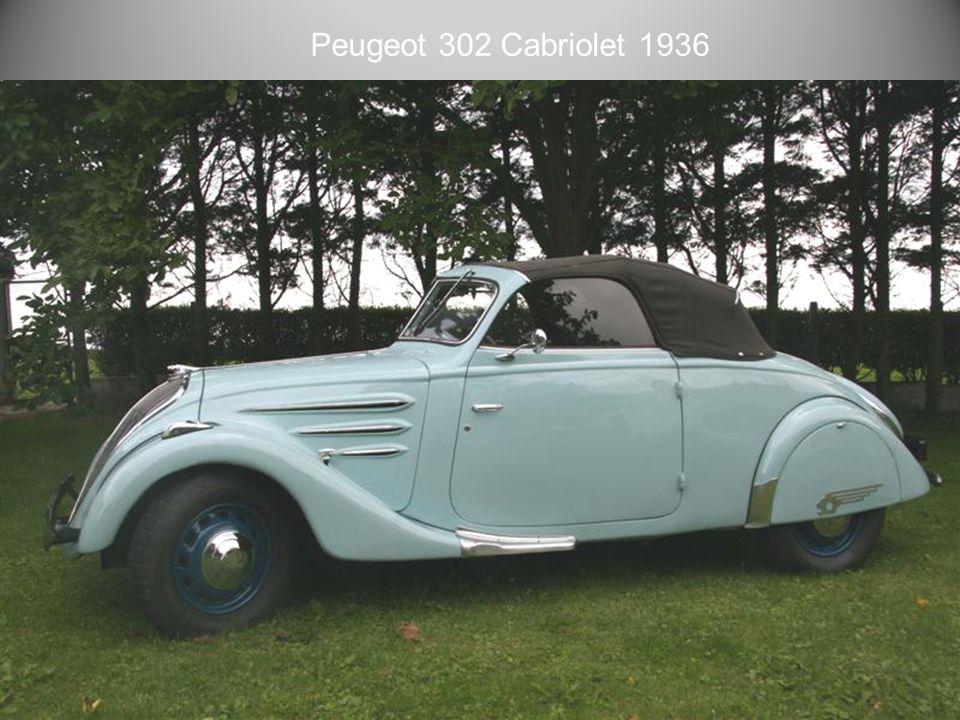 Peugeot 302 1937