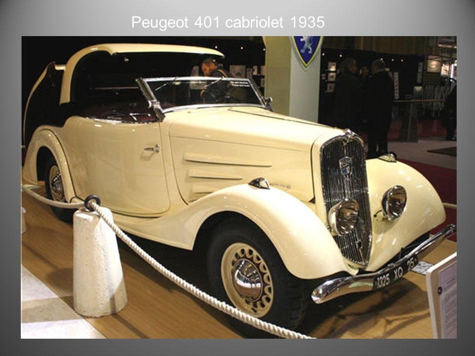 Peugeot 302 Cabriolet 1936