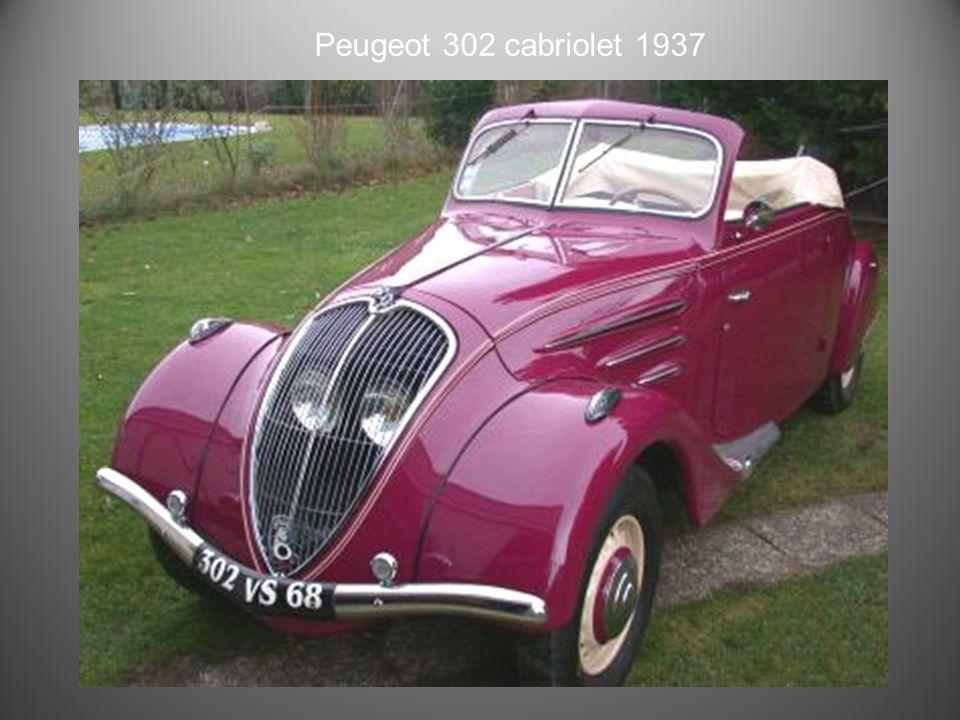 Peugeot 401 cabriolet 1935