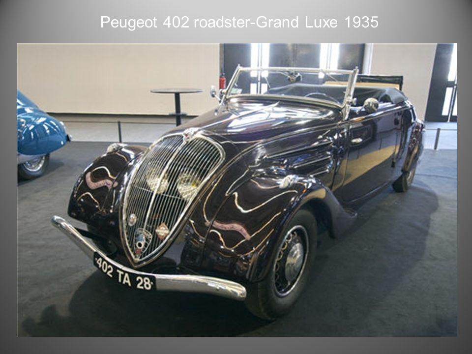 Peugeot 402 eclipse 1938