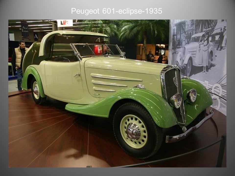 Peugeot 601Torpédo Grand Sport 1934