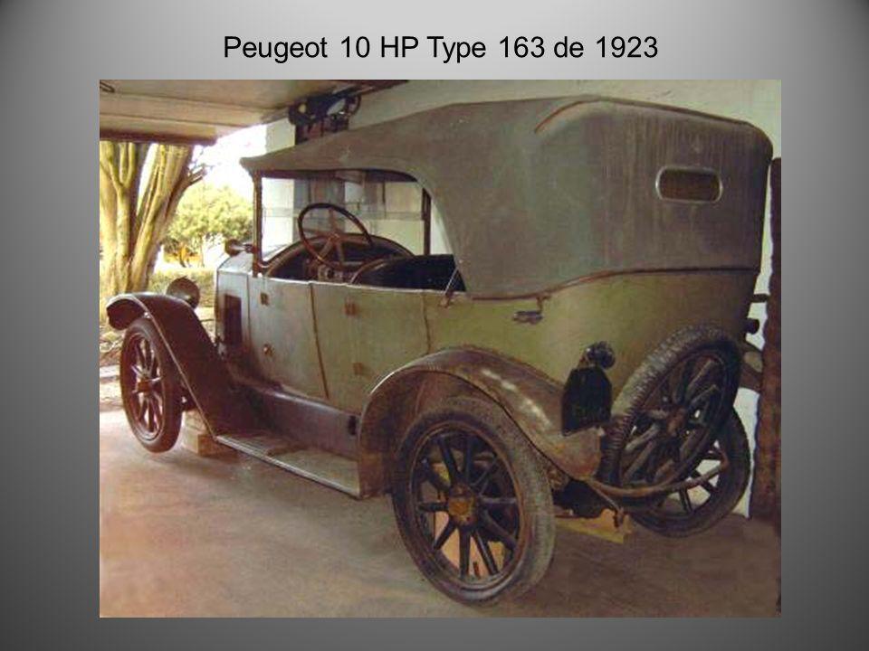 Peugeot 172 S quadrilette GS 1924