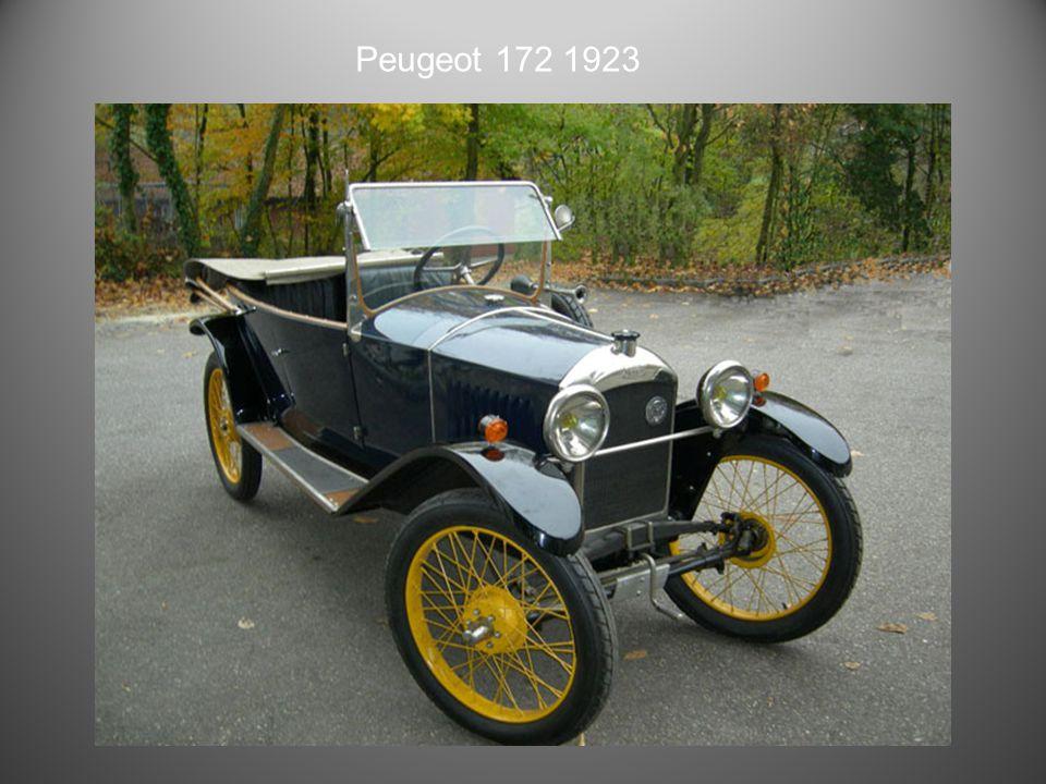 Peugeot 10 HP Type 163 de 1923