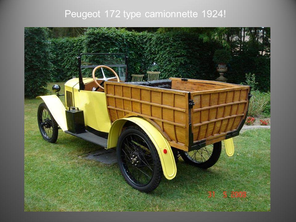 Peugeot 172 1923
