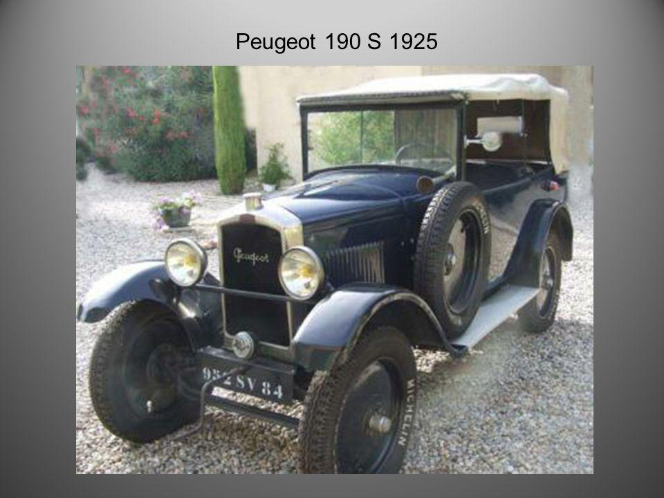 Peugeot 172 type camionnette 1924!