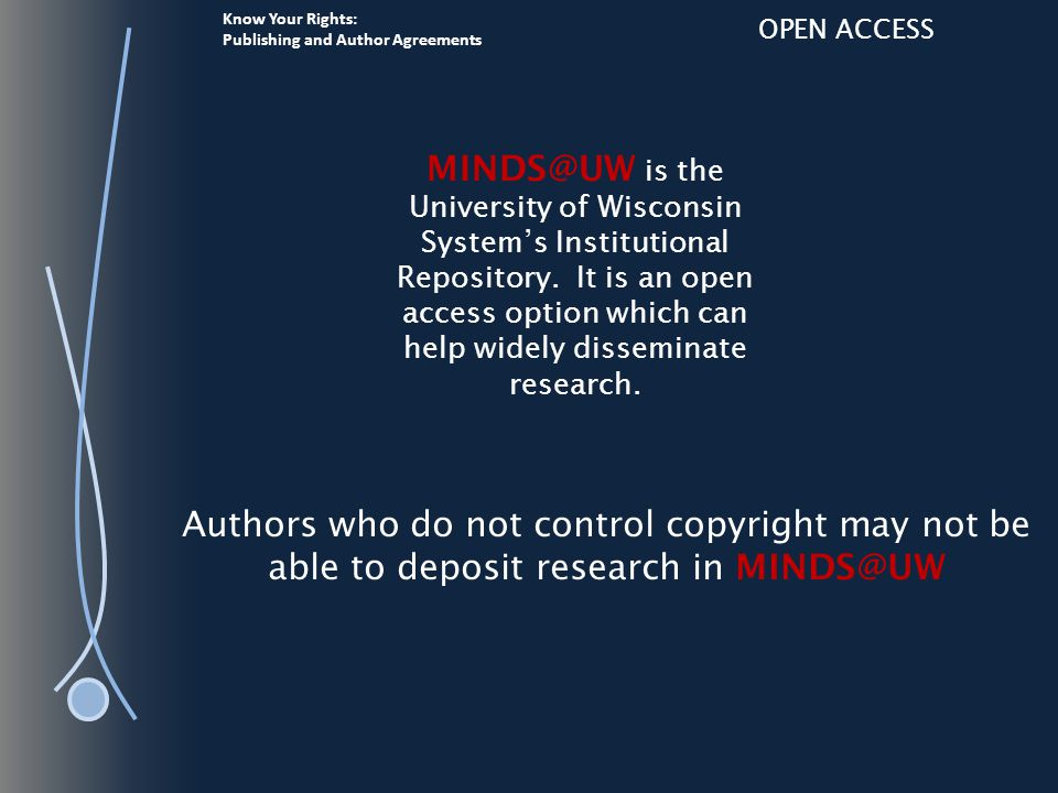 Know Your Rights: Publishing and Author Agreements OPEN ACCESS SHERPA The original SHERPA partnership was formed for the SHERPA project (2002-2006) and drew from research-led universities with an active interest in establishing an example of a then-new concept - an open access institutional repository. Source http://www.sherpa.ac.uk/about.