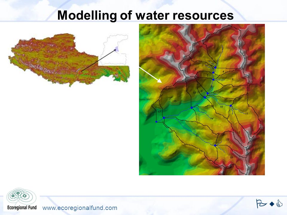 PwC www.ecoregionalfund.com Modelling of water resources