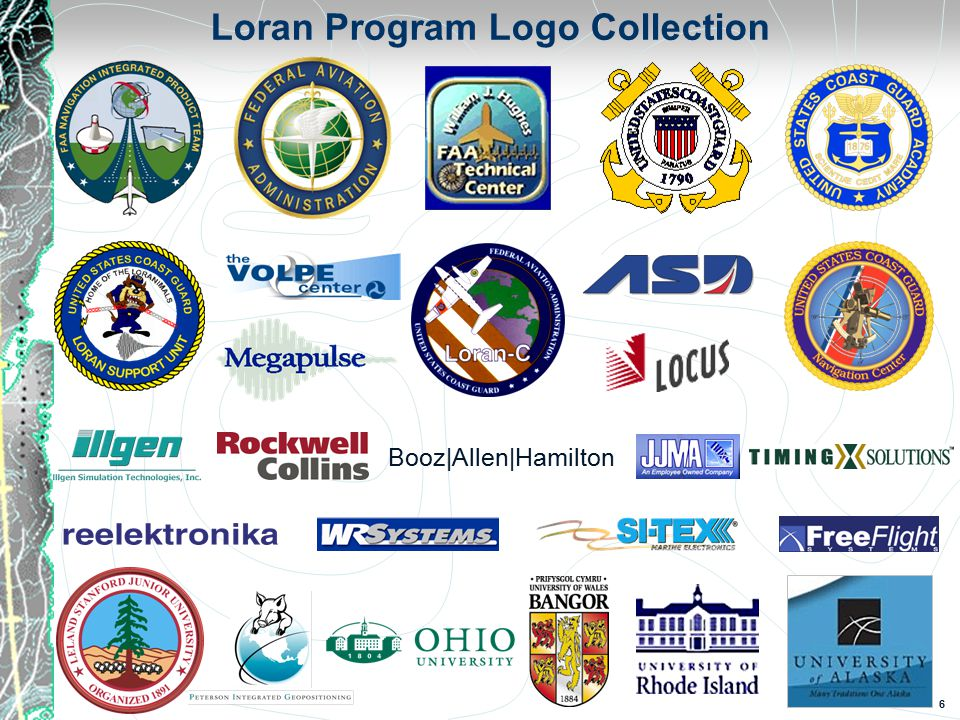 6 Loran Program Logo Collection Booz|Allen|Hamilton