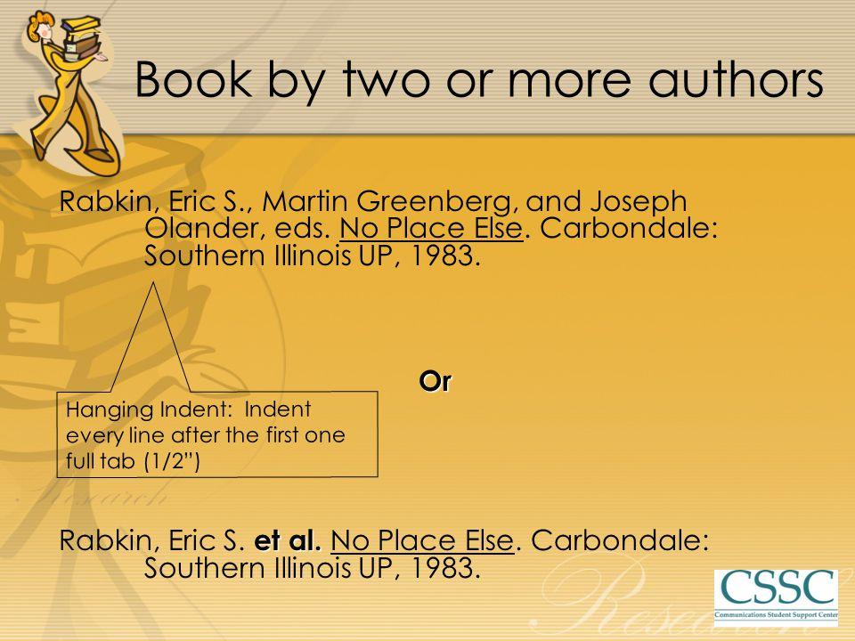 Rabkin, Eric S., Martin Greenberg, and Joseph Olander, eds.