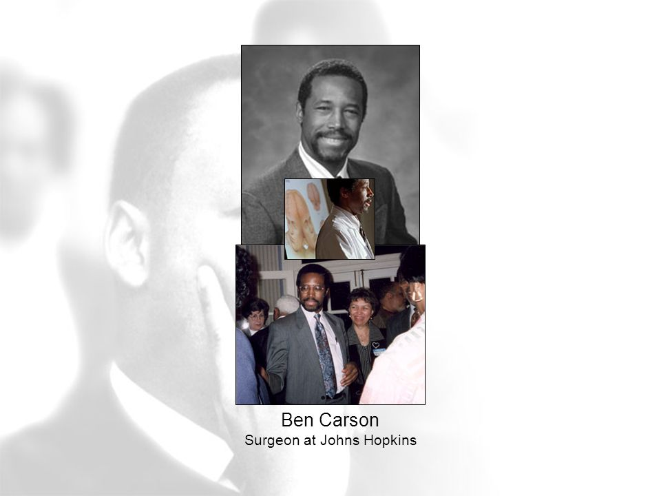 Ben Carson Surgeon at Johns Hopkins
