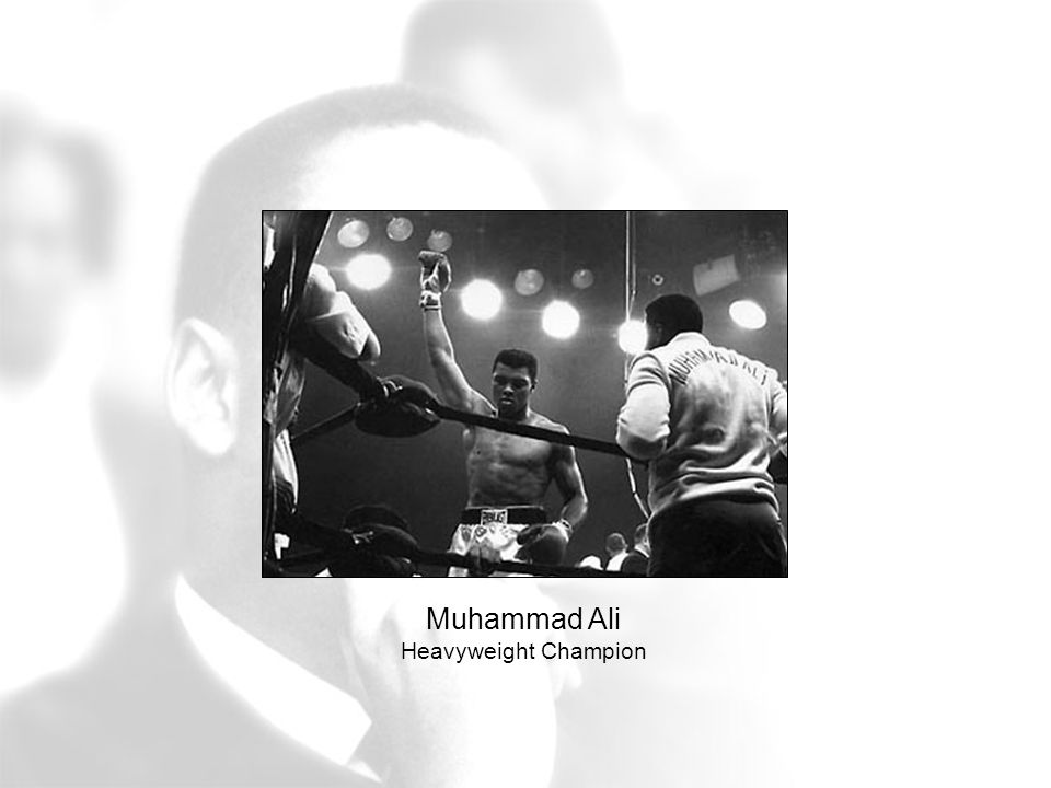 Muhammad Ali Heavyweight Champion