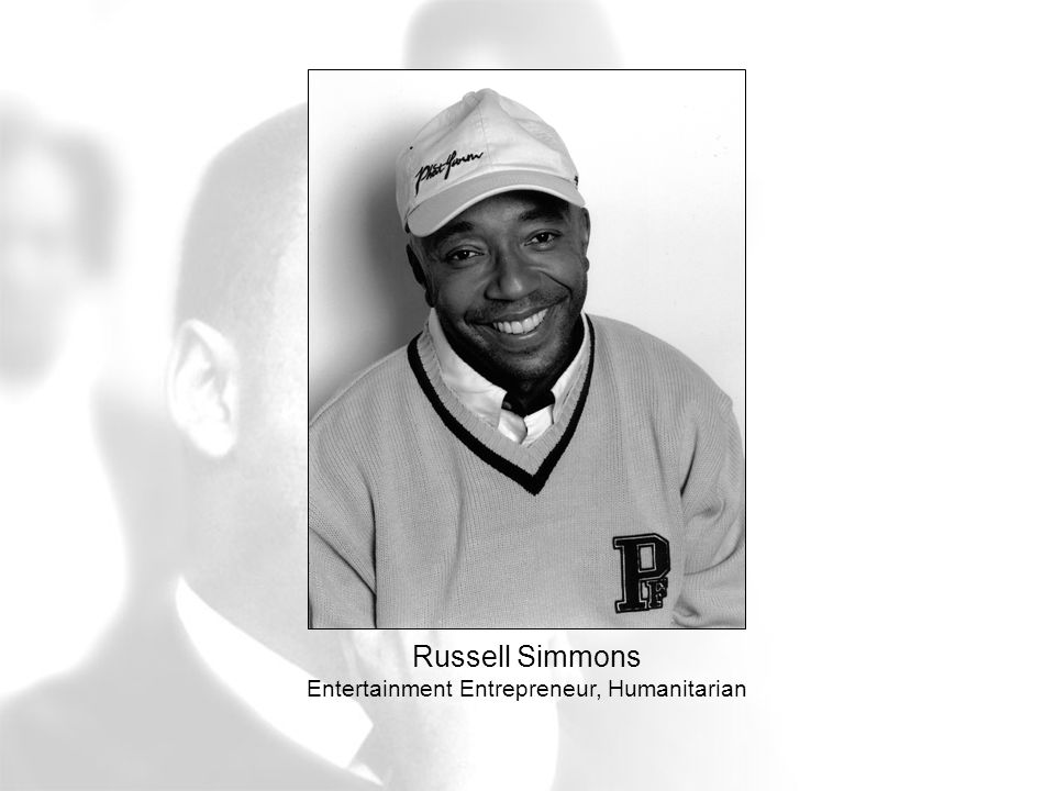 Russell Simmons Entertainment Entrepreneur, Humanitarian