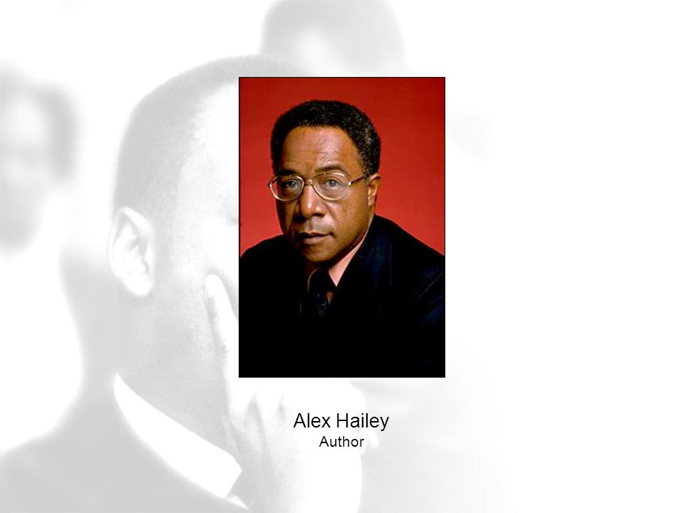 Alex Hailey Author