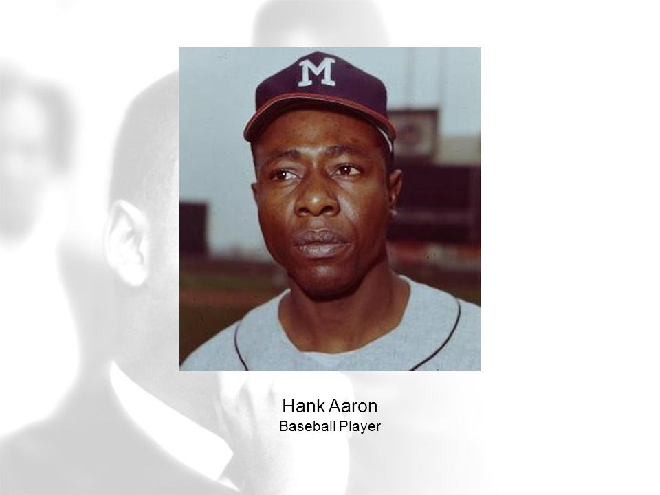 Hank Aaron Baseball Player