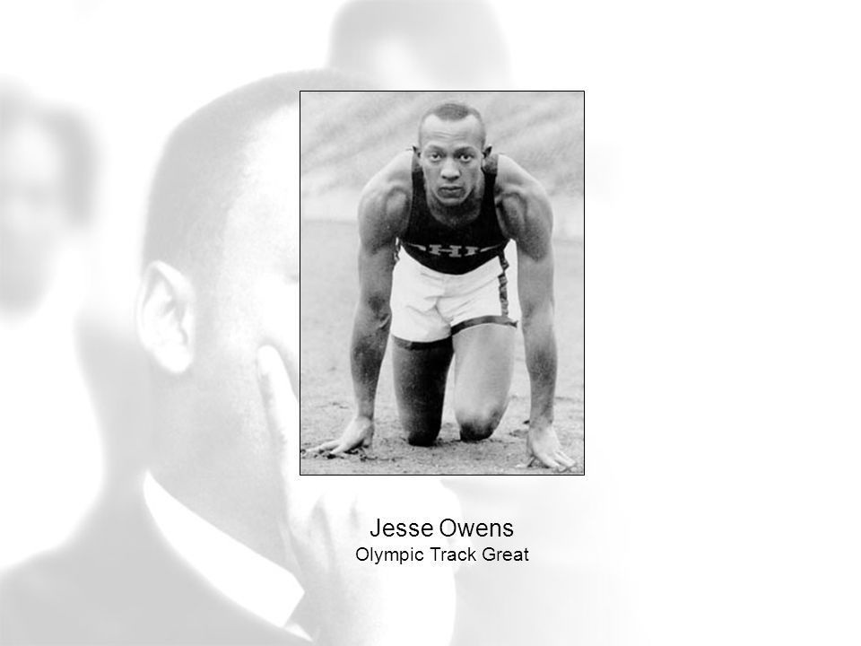 Jesse Owens Olympic Track Great
