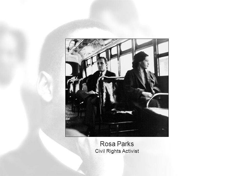 Rosa Parks Civil Rights Activist