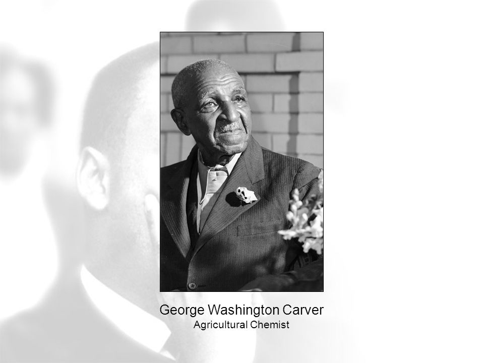 George Washington Carver Agricultural Chemist