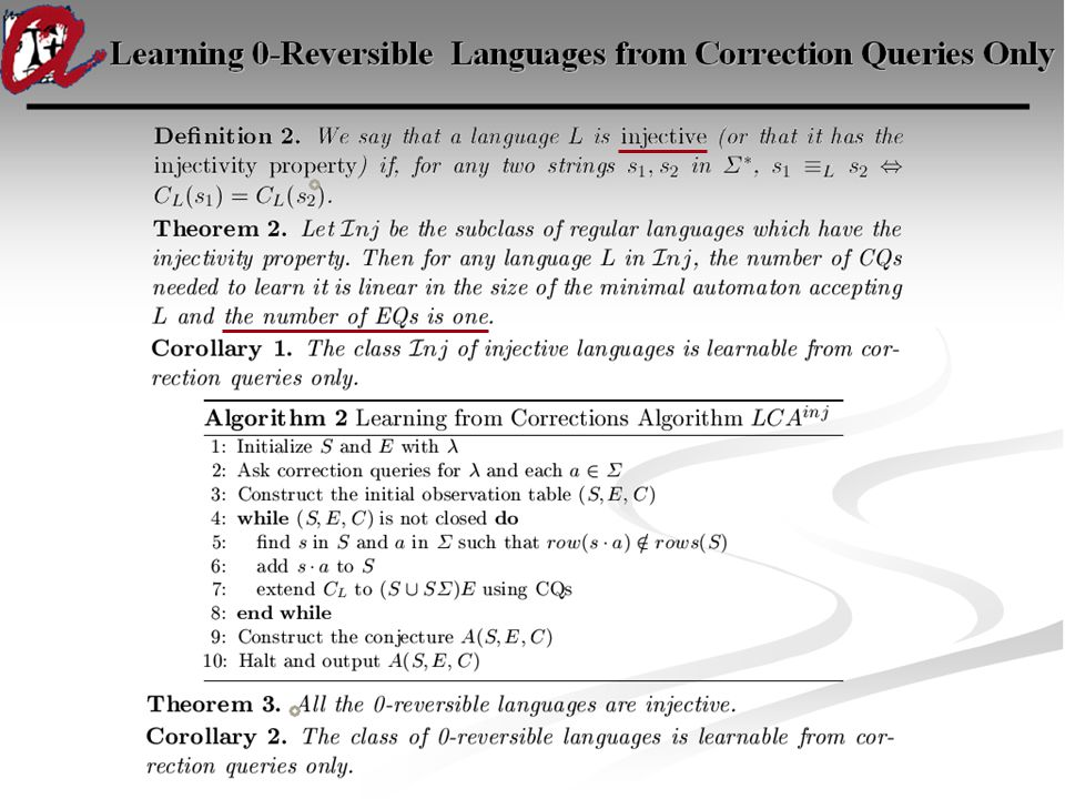 Learning 0-Reversible Languages from Correction Queries Only