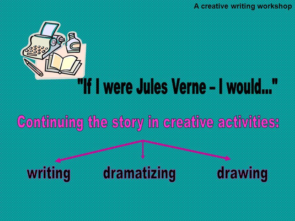A creative writing workshop