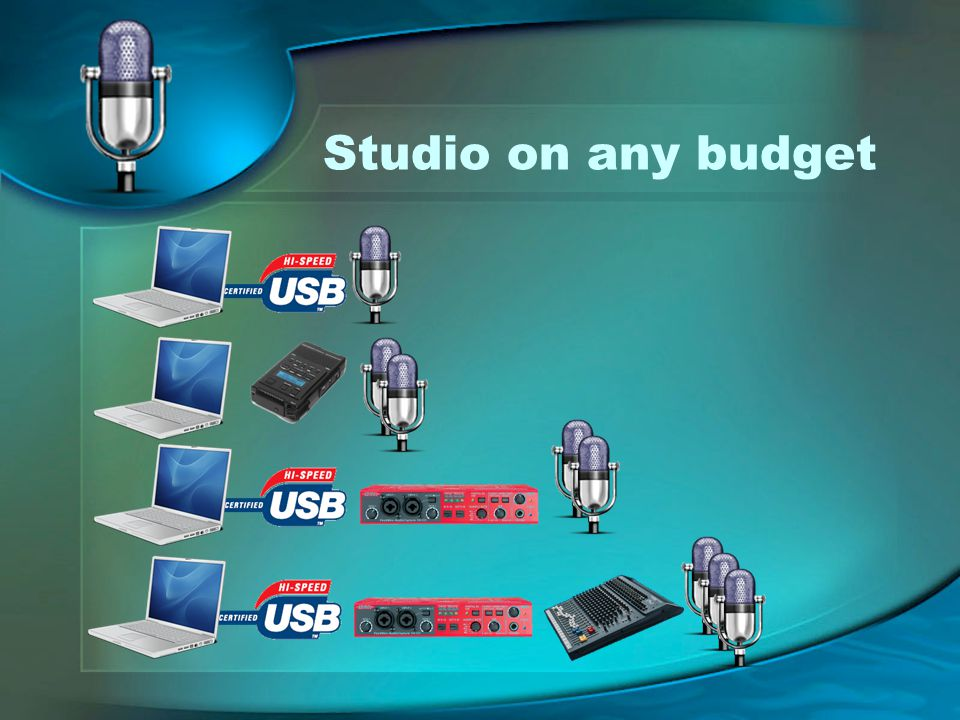 Studio on any budget